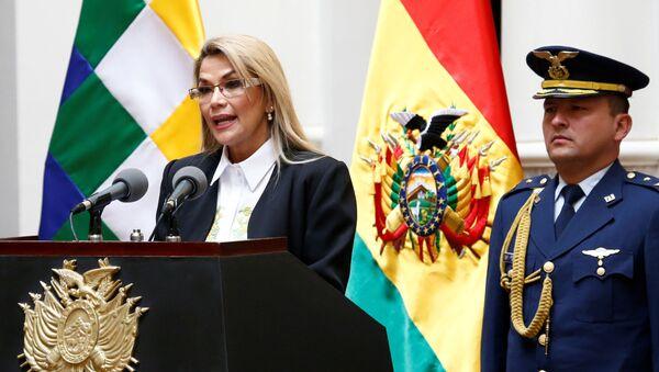 Bolivia's interim President Jeanine Anez - Sputnik International
