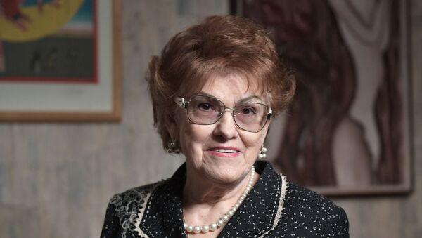 Saint Petersburg State University president, Ludmila Verbitskaya - Sputnik International