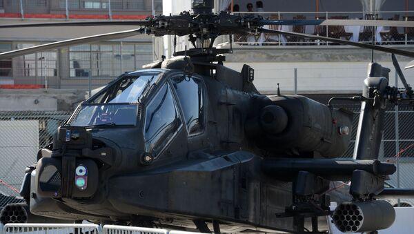 AH-64D Apache Longbow at the International Paris Air Show - Sputnik International
