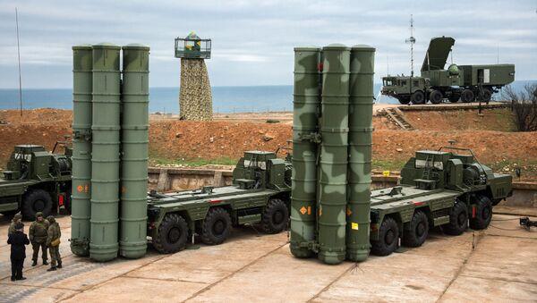 S-400 Triumf anti-air missile system - Sputnik International