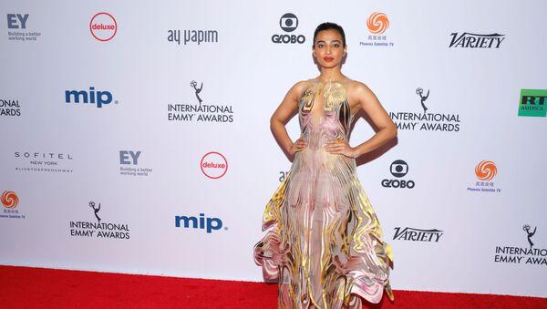 Indian actor Radhika Apte arrives for the 47th International Emmy Awards in New York City, U.S., November 25, 2019 - Sputnik International