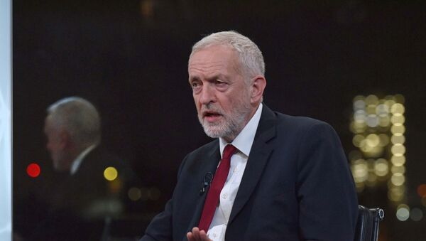 Britain's opposition Labour Party leader Jeremy Corbyn appears on BBC TV's The Andrew Neil Interviews in London, Britain, November 26, 2019 - Sputnik International