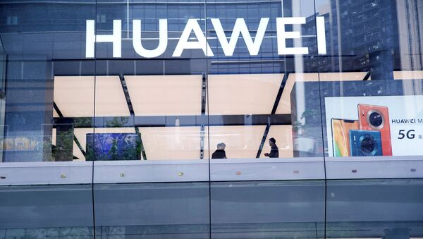 Huawei's first global flagship store is pictured in Shenzhen, Guangdong province, China October 30, 2019 - Sputnik International