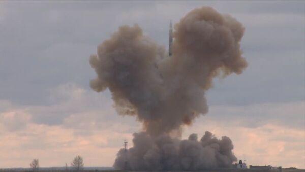 The launch of the Avangard hypersonic glide vehicle - Sputnik International