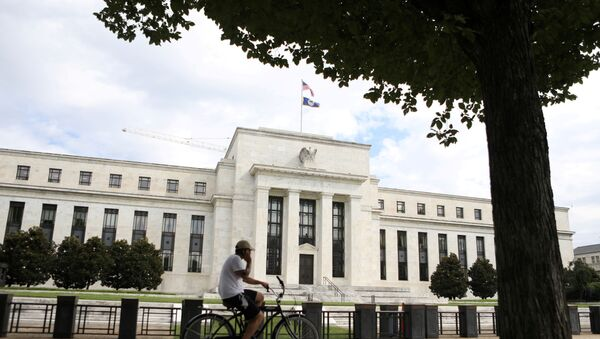 Federal Reserve building in Washington - Sputnik International