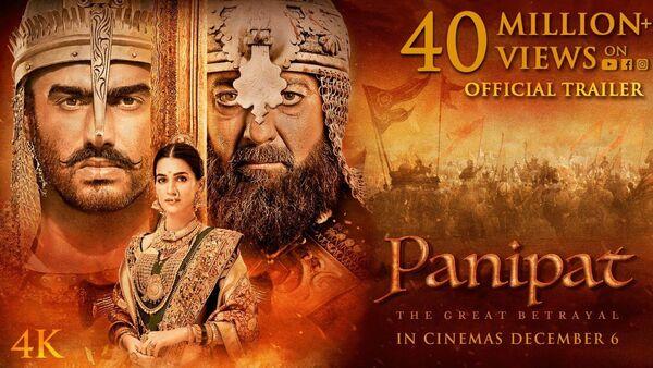 Panipat   Official Trailer - Sputnik International