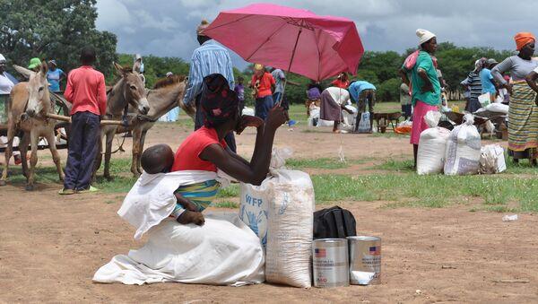 Africa Food distribution, Zimbabwe - Sputnik International
