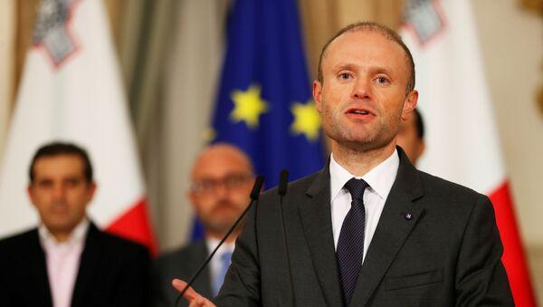 Maltese Prime Minister Joseph Muscat - Sputnik International