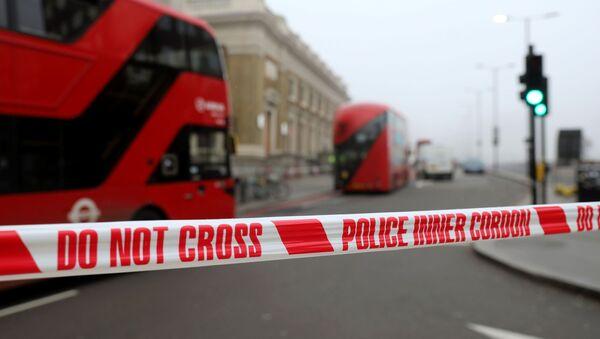 Police Tape at London Bridge - Sputnik International