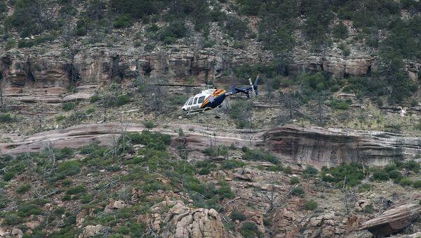 A helicopter near the East Verde River inside the Tonto National Forest - Sputnik International