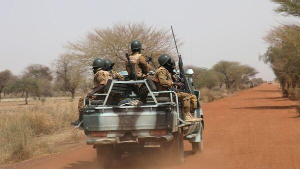 Soldiers in the Sahel area of Burkina Faso - Sputnik International