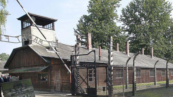 The former German Nazi death camp of Auschwitz in Poland - Sputnik International