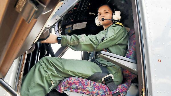 Sub Lieutenant Shivangi  - Sputnik International