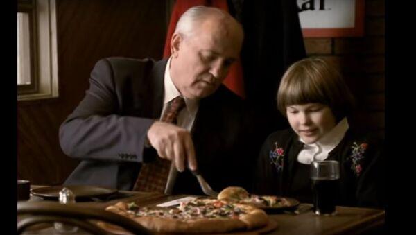 Pizza Hut Gorbachev TV Spot Commercial :60 International version - Sputnik International