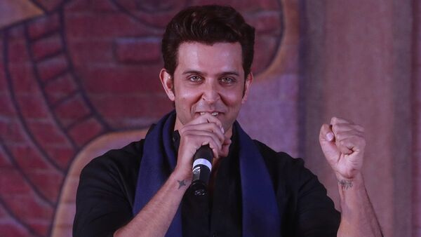 Bollywood actor Hrithik Roshan speaks during an event to promote his upcoming film Mohenjo Daro in Mumbai, India, Tuesday, 12 July 2016. - Sputnik International
