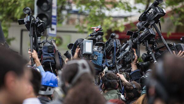 Press, cameras - Sputnik International