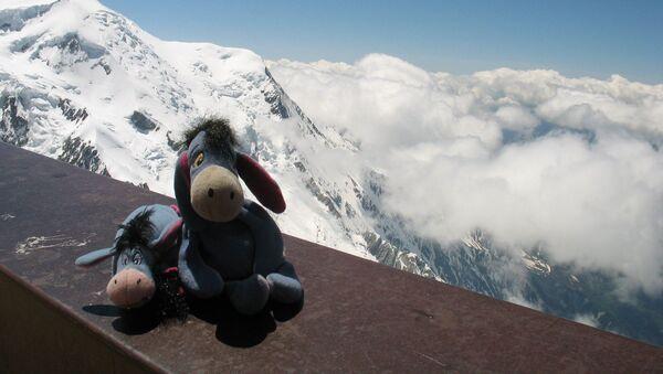 Eeyore & EJ Above the Clouds in the Alps. Chamonix, France - Sputnik International