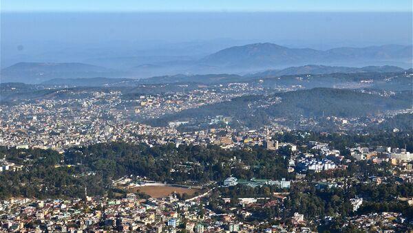 Aerial view of Shillong Meghalaya India - Sputnik International