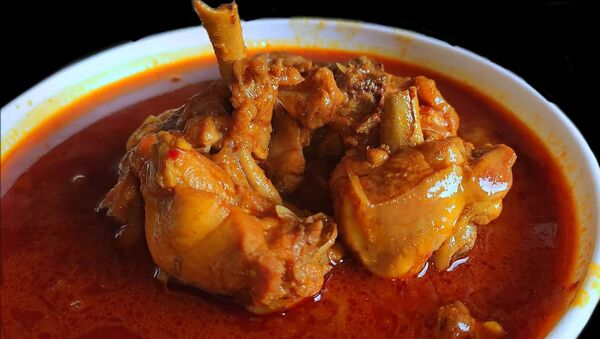 Chicken curry  - Sputnik International