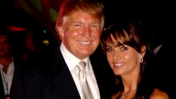 How Karen McDougal Began Her Alleged Affair With President Trump - Sputnik International