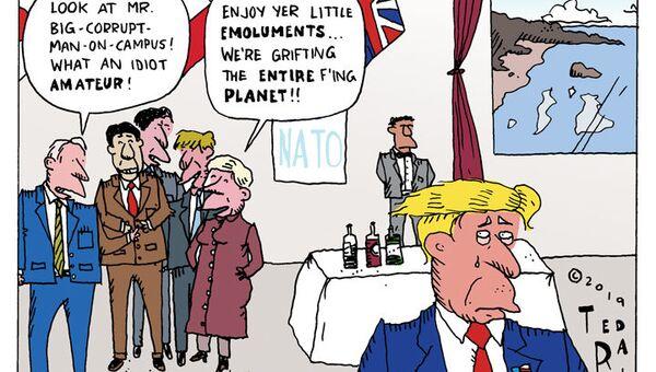 Buckingham Bullies  - Sputnik International