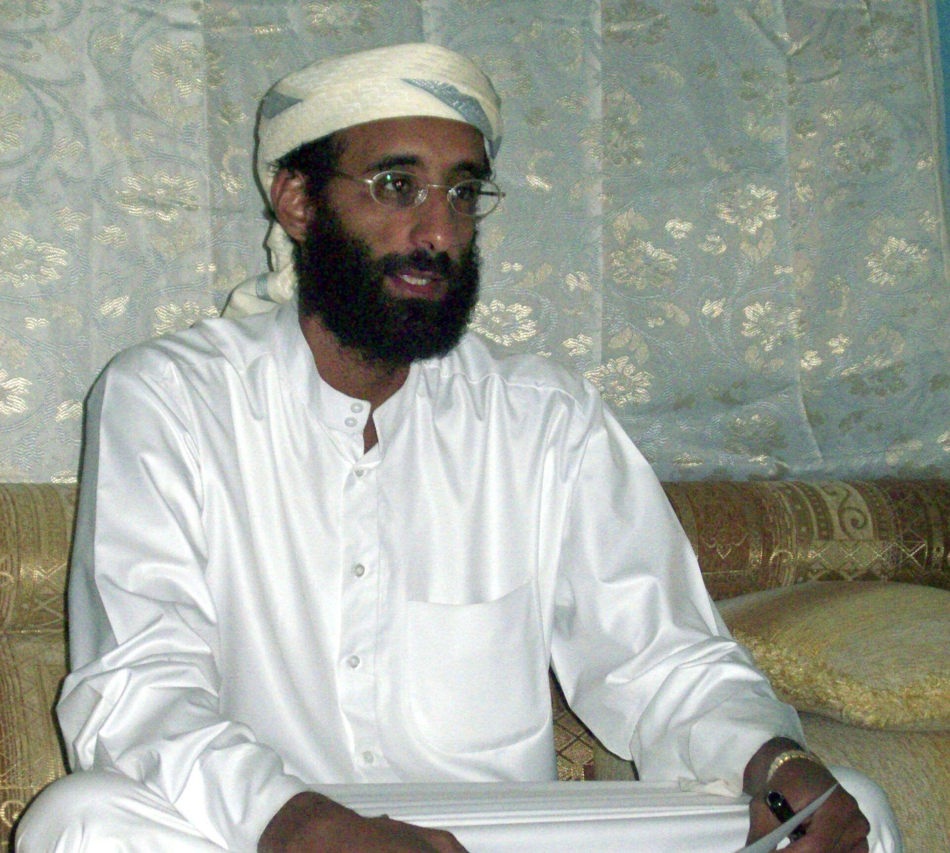 FILE - This October 2008, file photo shows Imam Anwar al-Awlaki in Yemen - Sputnik International, 1920, 07.09.2021