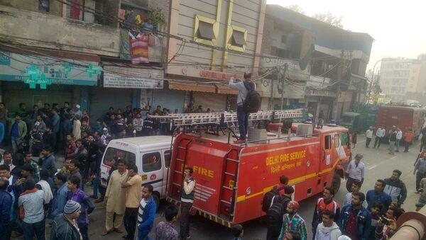 Delhi Fire Service - Sputnik International