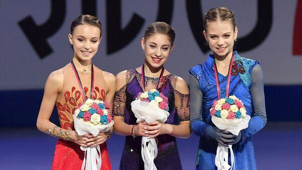 ISU Grand Prix of Figure Skating Final. Award ceremony - Sputnik International
