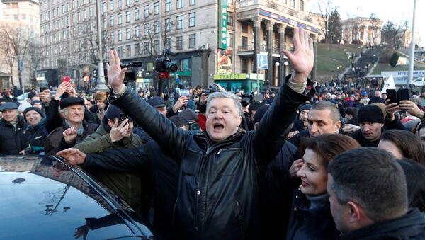 Ukraine's former President Petro Poroshenko - Sputnik International