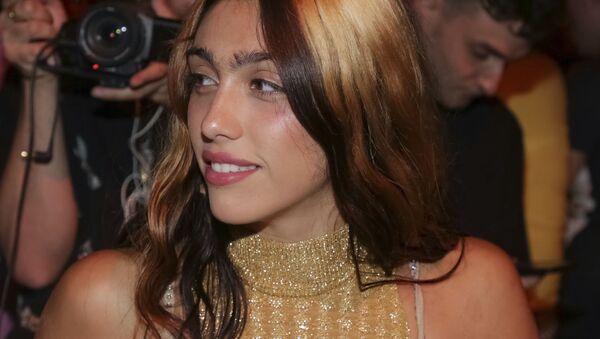Madonna's daughter Lourdes Leon attends the Jeremy Scott Runway Show 2018 - Sputnik International