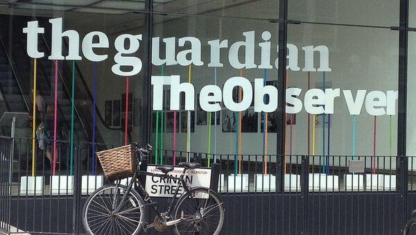The Guardian Newspaper Building - Sputnik International