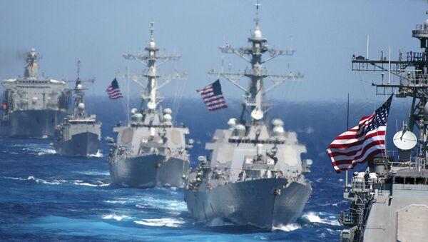 US Navy Ships - Sputnik International