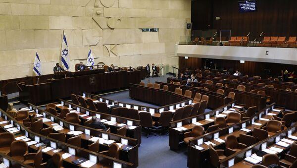 A general view of the Knesset (Israeli parliament) in Jerusalem on December 11, 2019 - Sputnik International