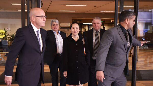 Huawei Chief Financial Officer Meng Wanzhou in Vancouver - Sputnik International