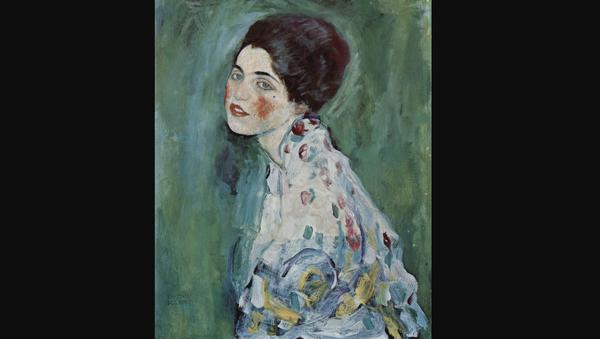 Portrait of a Lady by Gustav Klimt - Sputnik International