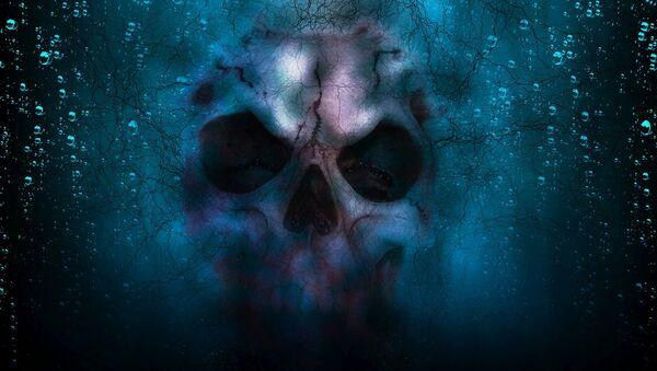 Skull underwater - Sputnik International