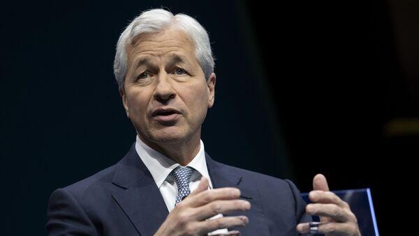 JPMorgan Chase & Co. CEO Jamie Dimon in Washington, DC - Sputnik International