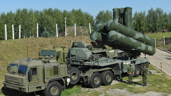 Russia S-400 air defence system near Moscow - Sputnik International