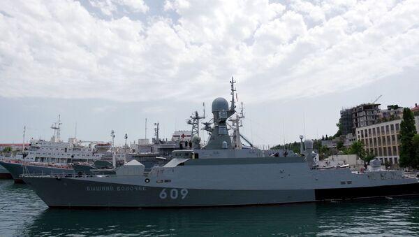 Russian Guided Missile Corvette Vyshny Volochek - Sputnik International