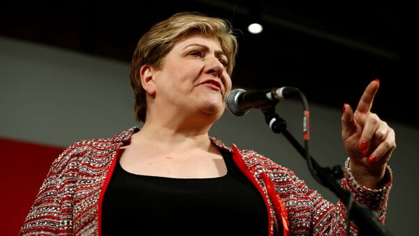 Britain's Labour Party candidate Emily Thornberry speaks during a final general election campaign event in London, Britain, December 11, 2019 - Sputnik International
