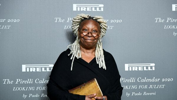 Actor Whoopi Goldberg poses at the launch of the Looking for Juliet 2020 Pirelli Calendar in the northern Italian city of Verona, Italy, December 3, 2019. - Sputnik International