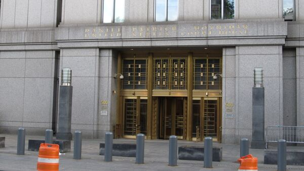 The Daniel Patrick Moynihan United States Courthouse is a courthouse in Manhattan. At 500 Pearl Street in Foley Square in the Civic Center neighborhood of lower Manhattan in New York City, it houses the United States District Court for the Southern District of New York, and is the temporary home of the United States Court of Appeals for the Second Circuit while its Thurgood Marshall United States Courthouse, located across the street, is renovated - Sputnik International