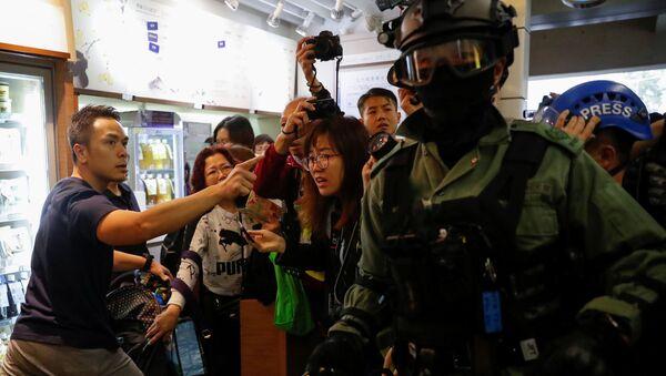 Anti-government protests in Hong Kong - Sputnik International