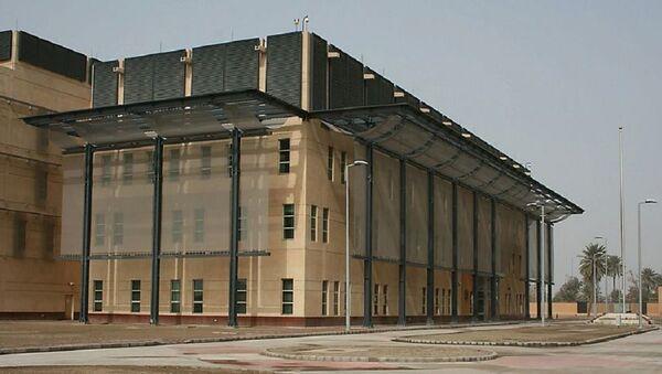 The new Embassy of the United States in Baghdad, Iraq - Sputnik International