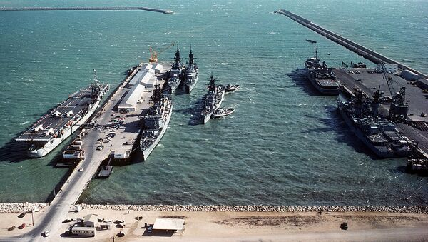Warships at Naval Station Rota (File) - Sputnik International