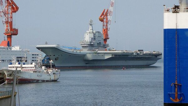 Type 002 aircraft carrier of People's Liberation Army Navy - Sputnik International