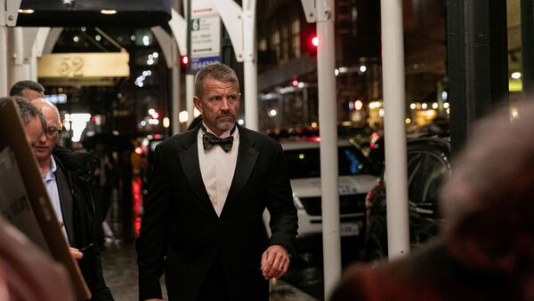 FILE PHOTO: Erik Prince arrives for the New York Young Republican Club Gala at The Yale Club of New York City in Manhattan in New York City, New York, U.S., November 7, 2019. REUTERS/Jeenah Moon/File Photo - Sputnik International