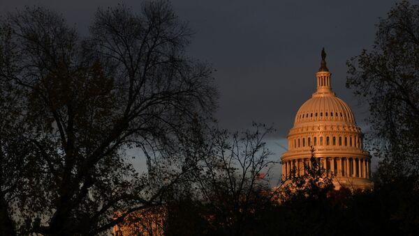 The U.S. Capitol building is pictured at sunset on Capitol Hill in Washington, U.S., November 22, 2019. - Sputnik International