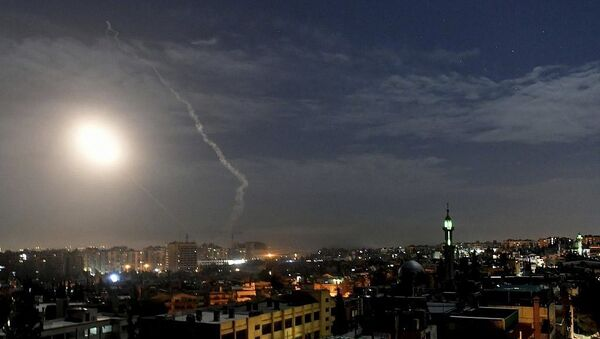 Syrian state media reports incoming missiles from Israel, 22.12.2019 - Sputnik International
