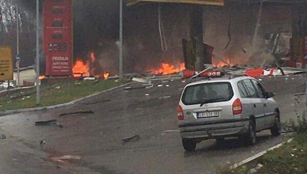 Explosion at gas station - Sputnik International